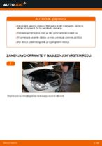 Kako zamenjati Aksialni Zgib Jarmski Drog MERCEDES-BENZ B-CLASS (W245) - vodič spletu