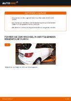 Wie Sie das hintere Radnaabenlager am Mercedes W245 ersetzen