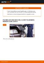 Austauschen von Motorluftfilter Anweisung PDF für MERCEDES-BENZ C-CLASS