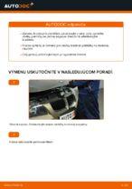 Ako vymeniť predné brzdové platničky kotúčovej brzdy na BMW E90