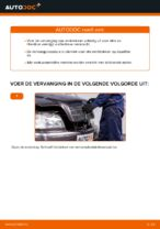 Zelf Remblokkenset achter en vóór vervangen MERCEDES-BENZ - online handleidingen pdf