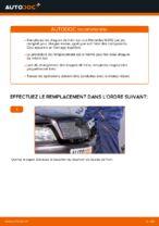 Comment changer des disques de frein avant sur une Mercedes W202