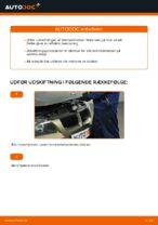 Hvordan man udskifter bremseklodser til skivebremser i for på BMW E90