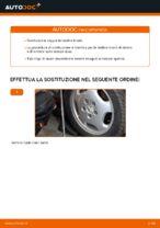 Come sostituire la testina tirante dello sterzo su Mercedes W202