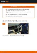 bak och fram Bromsskivor BMW 3-serie | PDF instruktioner för utbyte