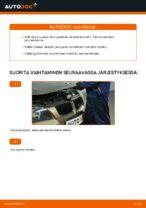 Kuinka vaihtaa etujarrupalat levyjarruihin autoon BMW E90