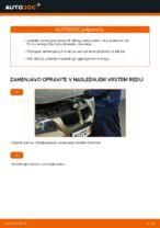 Kako zamenjati sprednje zavorne ploščice za kolutne zavore na BMW E90
