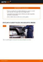 Mudar Jogo de pastilhas de travão Discos de freio MERCEDES-BENZ faça você mesmo - manual online pdf