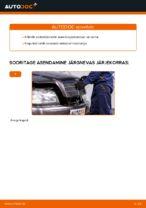 Käsiraamat PDF C-klass hoolduse kohta
