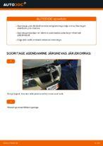 Paigaldus Piduriklotsid BMW 3 (E90) - samm-sammuline käsiraamatute
