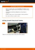 Kaip pakeisti priekinius stabdžių diskus BMW E90