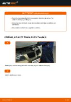 Kaip pakeisti priekinių diskinių stabdžių kaladėles BMW E90