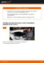 Wie Fernscheinwerfer Glühlampe beim MERCEDES-BENZ B-CLASS (W245) wechseln - Handbuch online