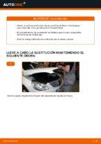 Tutorial paso a paso en PDF sobre el cambio de Pastillas De Freno en MERCEDES-BENZ B-CLASS (W245)