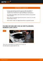Wie der Austausch der vorderen Bremsscheiben bei einem Mercedes W245 funktioniert