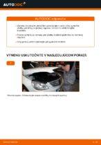 MERCEDES-BENZ Brzdové doštičky zadné a predné vymeniť vlastnými rukami - online návody pdf