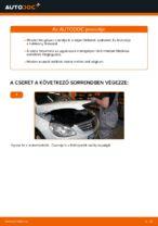 MERCEDES-BENZ hátsó és első Fékbetét készlet cseréje csináld-magad - online útmutató pdf