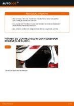 Wie der Austausch von Gasfedern des Kofferraumdeckels bei Mercedes W245-Autos funktioniert