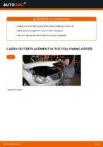 DIY MERCEDES-BENZ change Oil Filter - online manual pdf