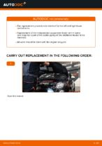 PDF replacement tutorial: Suspension arm ABARTH rear and front