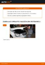 Avtomehanična priporočil za zamenjavo MERCEDES-BENZ Mercedes W245 B 200 CDI 2.0 (245.208) Metlica brisalnika stekel