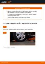 Como substituir as pastilhas de travão dianteiras do travão de disco de TOYOTA AYGO AB10