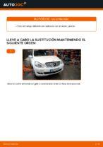 PDF Tutorial de reparación de recambios: MERCEDES-BENZ Clase E Berlina (W210)