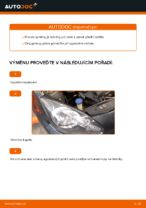 Jak vyměnit a regulovat Přední světlomet bi-xenon a halogen: zdarma průvodce pdf