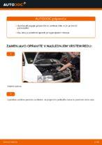 PDF priročnik za zamenjavo: Zracni filter VW