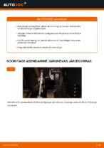 Salongi õhufilter vahetus: pdf juhend FORD FIESTA