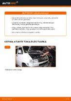 VW TRANSPORTER savininko vadovas