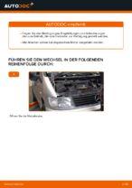 Luftfilter wechseln MERCEDES-BENZ VITO: Werkstatthandbuch