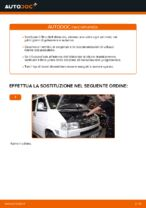 Le raccomandazioni dei meccanici delle auto sulla sostituzione di Gommini Barra Stabilizzatrice VW VW TRANSPORTER IV Bus (70XB, 70XC, 7DB, 7DW) 2.4 D