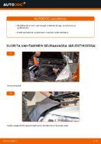 Automekaanikon suositukset AUDI Audi A6 4f2 2.0 TDI -auton Jarrulevyt-osien vaihdosta
