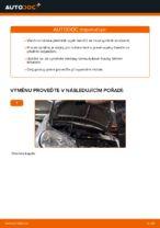 Jak vyměnit uložení přední vzpěry zavěšení kol na MERCEDES-BENZ A W168
