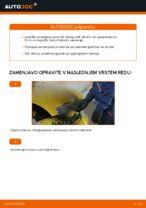 Navodila za vzdrževanje TOYOTA pdf