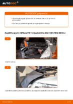 PDF priročnik za zamenjavo: Zracni filter AUDI