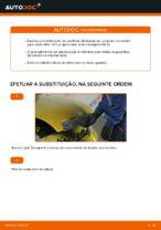 Instruções gratuitas online sobre como substituir Jogo de maxilas de travão TOYOTA YARIS (SCP1_, NLP1_, NCP1_)