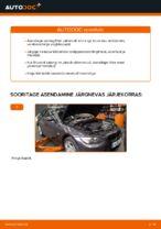 Kuidas vahetada salongiõhu diltrit autol BMW E92