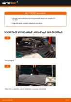 Kuidas vahetada mootori õhufiltrit autol VOLKSWAGEN PASSAT B5 (3BG, 3B6)