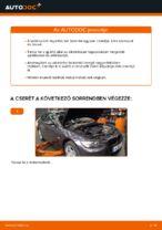 BMW E92 kabinszűrő csere