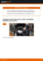 Wie Sie den Motorluftfilter am TOYOTA RAV4 III (XA30) ersetzen