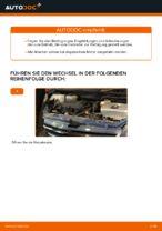 Auswechseln Motorluftfilter TOYOTA PRIUS: PDF kostenlos