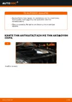 Οι συστάσεις του μηχανικού αυτοκινήτου για την αντικατάσταση LEXUS Lexus RX XU30 3.0 Τακάκια Φρένων