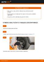 Ako vymeniť pružiny zadného zavesenia kolies na Opel Corsa C