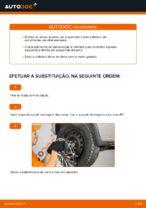 Como substituir molas de suspensão traseiras em Opel Corsa C