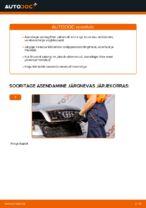 Kuidas vahetada salongiõhu diltrit autol AUDI A4 B6