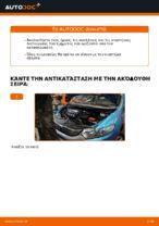 Οι συστάσεις του μηχανικού αυτοκινήτου για την αντικατάσταση HONDA Honda Insight ZE2/ZE3 1.3 Hybrid (ZE2) Τακάκια Φρένων