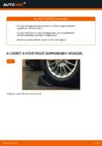 Ford Fiesta V JH JD hátsó felfüggesztés lengéscsillapító csere