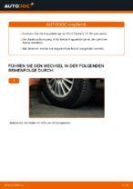 Wie ersetze ich eine vordere Koppelstange am Ford Fiesta V JH JD